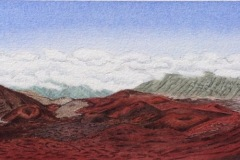 """Crater View, 6"""" by 22"""""""