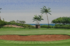 First Hole at Maui Country Club