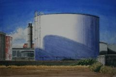 From Maui Oil Company Tank