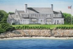 Chapoquoit Island Shaw's House